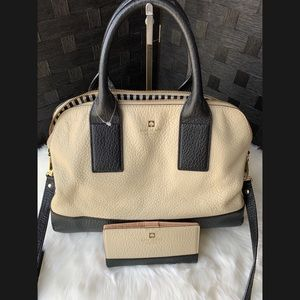 Authentic Kate Spade Tote and Waller Set